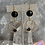 Thumbnail: Onyx & Chalcedony Universe Hoops
