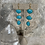 Thumbnail: Golden 3-Tier Turquoise Dangles
