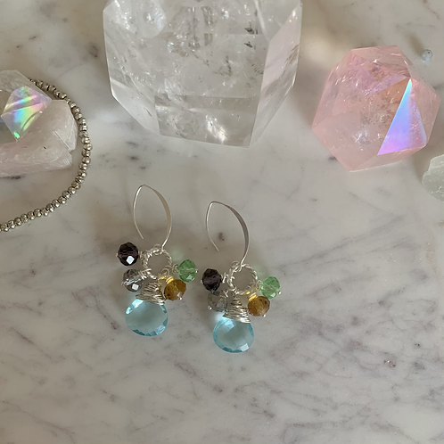 Sterling Blue Sky Gems