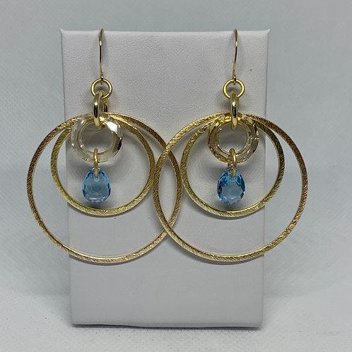 Triple Gold Cosmic Rings