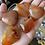 Thumbnail: Medium Polished Carnelian Hearts