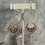 Thumbnail:  Brushed Gold Fairy Garden Hoops