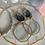 Thumbnail: Golden Rutile Quartz Hoops