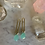 Thumbnail: Brass, Silver and Aqua Slims