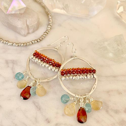 Gemstones Fairy Hoops