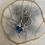 Thumbnail: Antique Blue Topaz Hoop Drops