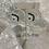 Thumbnail: Silver Malachite Hoops