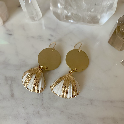 Brass & Gold Sea Shells
