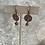 Thumbnail: Copper Bee Button Aqua Drops