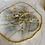 Thumbnail: Metallic Amethyst Gold Hoops