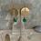 Thumbnail: Bright Brass & Green Chalcedony