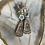 Thumbnail: Blue Petite Silver Bursts