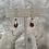 Thumbnail: Mini Silver Garnet Drops