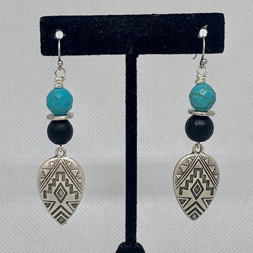 Tribal Turquoise & Black