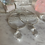 Thumbnail: Dreamy Crystal Silver Lined Hoops