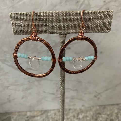 Aquamarine Copper Prism