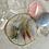 Thumbnail: Silver & Gold Oval Czech Stacks