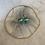 Thumbnail: Tiny Turquoise Silver Disc