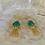 Thumbnail: Paraiba Green Quartz Paddles