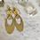 Thumbnail: Tangerine Brass Ovals