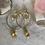 Thumbnail: Golden Citrine Lux Hoops