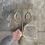 Thumbnail: Rose Quartz Brushed Double Oval