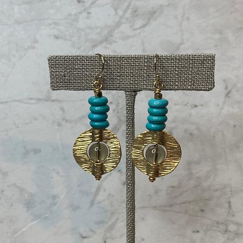 Golden Globe & Turquoise