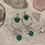 Thumbnail: Green Onyx & Moonstone Silver Royalty