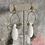 Thumbnail: Brass White Jade Long Drops