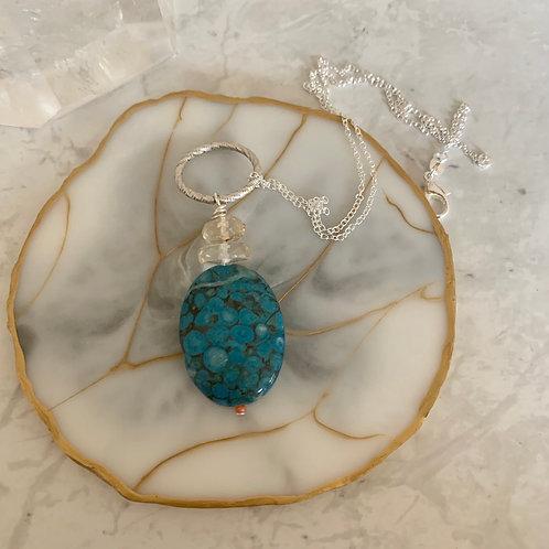 Turquoise Citrine Pendant