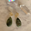 Thumbnail: Olive Jade with Citrine Pebbles