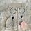 Thumbnail: Lapis Lazuli Czech Wrapped Hoops