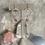 Thumbnail: Micro Pink Tourmaline Hoops