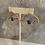 Thumbnail: Purple Amethyst Gold Hoop