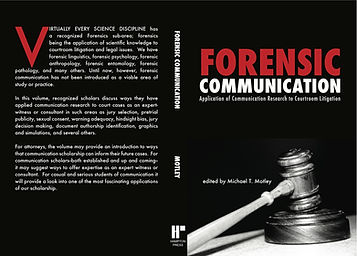Forensic Communication by Michael T. Motley