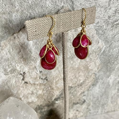 Blooming Ruby Drops