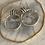 Thumbnail: Herkimer Diamond Wrapped Hoops