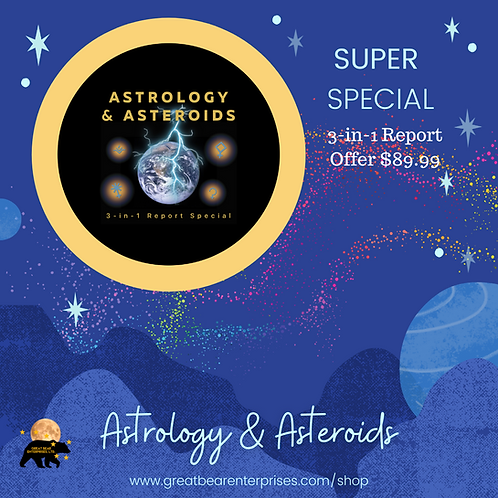 Astrology & Asteroids 3-in-1 Special