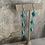Thumbnail: Turquoise Diamond Dangles