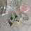 Thumbnail: Deep Green Chalcedony Brass Diamonds