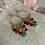 Thumbnail: Golden Amazonite & Pink Tourmaline Hoops