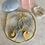 Thumbnail: Golden Citrine Coin Drop Hoops