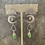 Thumbnail: Brushed Silver Moon  & Green Chalcedony