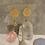 Thumbnail: Hammered Gold Citrine Drops