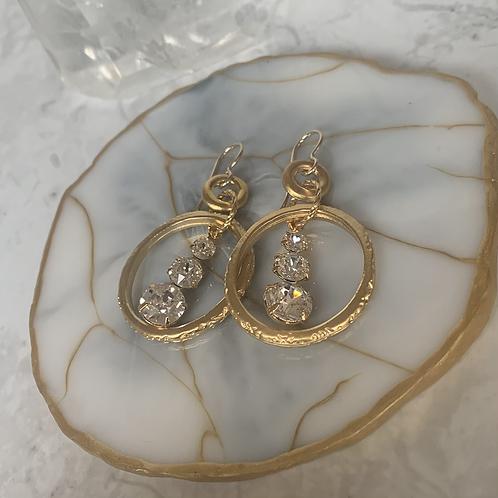 Swarovski Triple Crystal