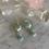 Thumbnail: Hexagon Amazonite Silver Hoops