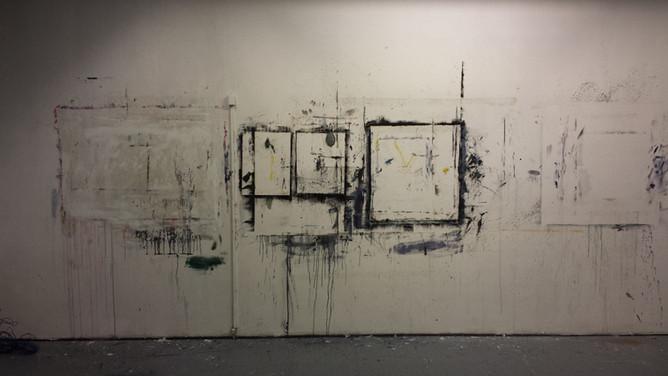 My studio in Hoogvliet on the day I left