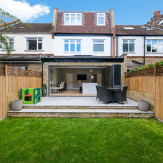 Extension with garden