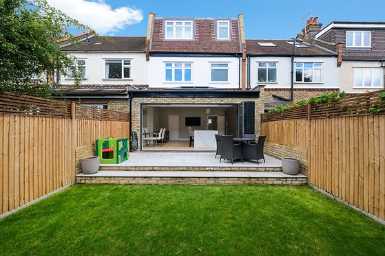 Large rear extension