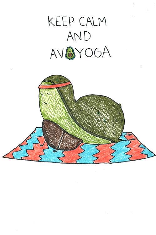 Keep calm and avoyoga